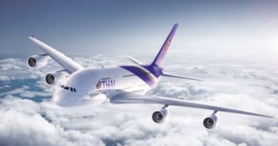THAI Ranks Amongst the Best Long-Haul Airlines in Telegraph Travel Awards 2017