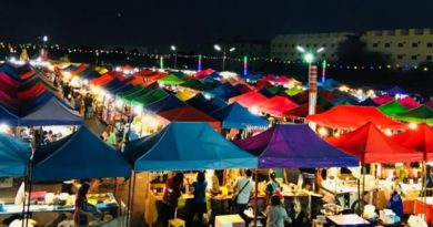 New Night Market opens in Bang Pa In near the Summer Palace