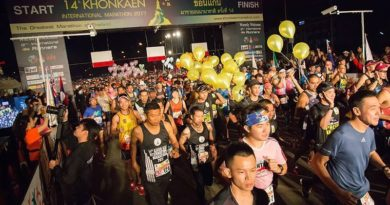Khon Kaen International Marathon 2018 on 28 January