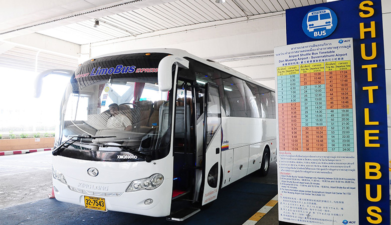 Airport Limobus Express Service Launched At Don Mueang And